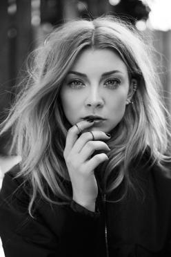 "Natalie Dormer - ""Perfect is very boring, and if you happen to have a different look, that's a celebration of human nature, I think. If we were all symmetrical and perfect, life would be very dull."": Girl, Zoey Grossman, Natalie Dormer, Beautiful,"