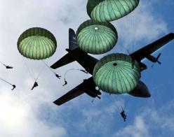 Paratroopers - I served as a paratrooper in the Australian Army and was fortunate enough to also spend 2 years attached to the British Parachute Regiment. I've (Chris Allen 'Intrepid' series) included that in Alex Morgan's history.: Pictur