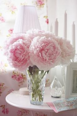Peonies are my favorite :)..My Office needs some Flowers ASAp..: Beautiful Flower, Pink Flower, Rose, Shabby Chic, Wedding, Flowers, Garden, Pink Peonies, Favorite Flower