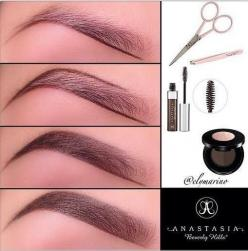 Perfect eyebrows...everytime i try to color in my eyebrows it looks ridiculous...but maybe trying this will work?: How To Color In Eyebrow, Beauty Tips, Filling In Eyebrows, Eye Brows, Makeup, Perfect Eyebrows Everytime, Anastasia Eyebrows, Eyebrow Tips