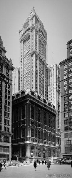PrintCollection - Singer Tower, New York: Singer Tower, Towers, Singers, New York, Prints Wa, Products
