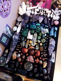 Rainbow Crystal Collection: Gemstone, Healing Crystals, Crystals Stones, Rock, Crystal Healing, Chakra Grid, Minerals