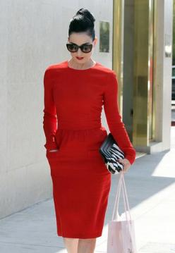 Red dress.: Fashion, Style, Reddress, Outfit, Dresses, Dita Von Teese, Red Hot