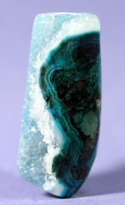 Reversible GemSilica or Druzy Chrysocolla /  Ray Mine, Arizona.  photo by Terry Williams    ..z: Reversible Gemsilica, Crystals Minerals, Arizona, Jewelry, Druzy Chrysocolla, Gemstones Rocks Minerals, Geodes Gemstones Crystals, Photo, Rocks Minerals Cryst
