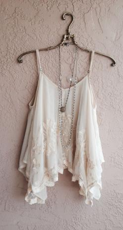 Romantic lace Sheer embroidered Juliet style bohemian gypsy goddess cape sleeve camisole reserved for Arianna: Boho Outfit, Style, Sheer Embroidered, White Lace Top, Romantic Lace, Lace Sheer, White Top, Summer Top