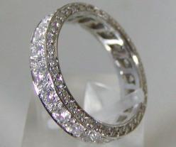 """Since we are saying """"dream"""", because this ring is not happening anytime soon. eternity ring. I love my engagement ring though, (just for clarity): Wedding Ring, Eternity Band, Wedding Ideas, Diamond, Rings, Wedding Bands, Engagement Ring"""