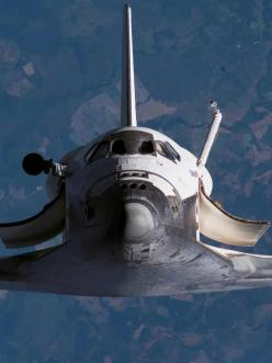 Space Shuttle in zero gravity orbit - up & away into space for a out of this world journey!: Flight, Photography Spaceshuttle, Nasa Spaceshuttle, Airplane, Astronaut