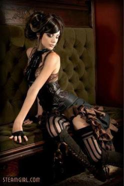 Steampunk: Steampunk Fashion, Steampunk Gothic, Steampunk Outfit, Beautiful, Sexy Steampunk Girl, Steam Punk, Hot Outfit, Costume Idea