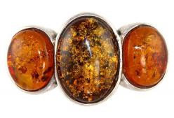 Sterling Silver Baltic Amber Ring: Baltic Amber, Кехлибар Amber, Amber Rings, Sterling Silver, Latvian Knitting, Folk Costumes