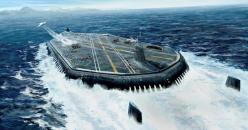 Submarine aircraft carrier.: Aircraft Carrier For, Submarines, Futuristic Submarine, Submarine Aircraft Carrier, Science Experiment, Scifi, Google Search, Aircraft Carriers Warships, Carrier Concept