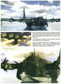 The Blohm & Voss BV 222 Wiking (Viking) was a large, six-engined German flying boat of World War II, and the largest flying boat to achieve operational status during the war. only 13 were flown with 14 to 19 almost complete .most were used in the stra