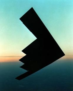 The first time I saw the Stealth Bomber, it was at the Air & Sea Show in Ft Lauderdale Beach, Florida - 2002. It flew in front of the crowd, close to the water, and it was so quiet it gave me goosebumps.: Flight, Stealth Bomber, B 2 Spirit, Photo, Pla