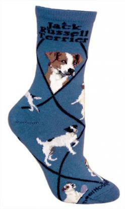The Jack Russell Terrier is a bold, friendly, active and alert hunting terrier, built for work underground. This breed is notoriously fearless and requires little encouragement to go to ground. Fits a women's shoe size 6-8.5.: Jack Russells, Animal So