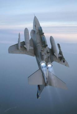 The McDonnell Douglas F-4 Phantom II[N 1] is a tandem, two-seat, twin-engine, all-weather, long-range supersonic jet interceptor fighter/fighter-bomber originally developed for the United States Navy by McDonnell Aircraft: Aviation, F 4 Phantom, Military