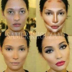 The power of contouring makeup: Face, Contours, Beauty Tips, Make Up, Style, Makeup Ideas, Hair, Contouring