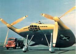 """The Vought XF5U """"Flying Flapjack"""" was an experimental U.S. Navy fighter aircraft designed by Charles H. Zimmerman during World War II. This unorthodox design consisted of a flat, somewhat disc shaped body (hence its name) serving as the lifting surface. T"""