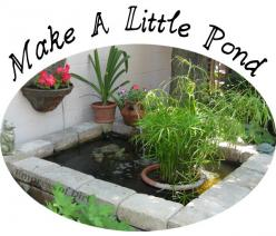 There's lots of ways to create a little garden pond using containers.… :: Hometalk: Pond Ideas, Garden Ideas, Water Features, Outdoor, Garden Ponds, Gardens, Project Ideas, Water Garden