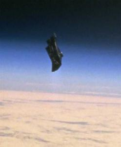 There's a probe that comes very close to the Earth every 15 or 20 years and we've been calling it an asteroid. It's not an asteroid. But it actually in reality is an artificial probe. It's called the Black Knight Satellite and was discovered in 1927,