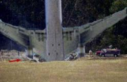 This is how Flight 93 crashed into the ground in PA. 9-11 #NeverForget #911 #Remembering911 9/11/2001: Remembering911 9 11 2001, September 11, Remembering 9 11, 911 Rememberance, 9 11 01, Planes, 911 Remembering911, 911 Flight 93