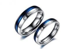 "Titanium Rings his and hers Promise Rings ""roses are red"" plated blue and white Couple Wedding Bands Valentine's day ring Sale gift on Etsy, $34.00: Couple Rings, Rhinestone Couple, Roses Are Red, Pretty Blue, Titanium Rings, Wedding Ideas, Titani"