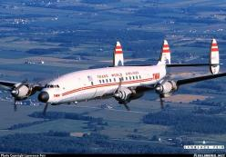 Trans World Airlines Lockheed L-1049H/01 Super Constellation (N6937C) over the Wisconsin countryside.: Aviation, Comercial Airplanes, Constellation, Trans, Brett S Airplanes, Connie, Beautiful Airplanes, Airplanes Aircraft, Airline