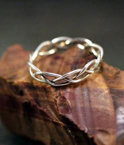Unique wedding band. Looks durable and only $40: Diamond Engagement Rings, Celtic Engagement Ring, Wedding Bands, Celtic Wedding Ring, Celtic Wedding Band