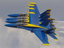 US Navy Blue Angels 4 ship pass. Aircraft are F/A-18 Hornets.: Airplanes Airplanes, Angels Airshow, Birds Blue Angels, Aircraft, Blue Angels For, Angels Perform, Air Blue Angels, Blue Angels Best, Navy Blue