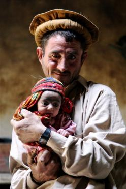 Wakhi Father and Child, Afghanistan. The Wakhi people are an ethnic group originating in the Wakhan of today's Badakhshan region located in northeastern Afghanistan and southeastern Tajikistan.: Wakhi Father, Father Child, Afghanistan, Posts, Children