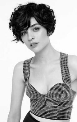 Wavy Short hairstyles for Women: Haircuts, Curly Pixie, Hair Cut, Hairstyle, Hair Style, Curly Hair, Pixie Cut