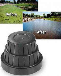 We need this to keep the pond clean year round. Submersible Dispenser | Buy from Gardener's Supply: Submersible Dispenser, Turtle Ponds, Waterfalls Fountains Ponds, Swimming Ponds, Fish Ponds, Pond Clean, Clean Year