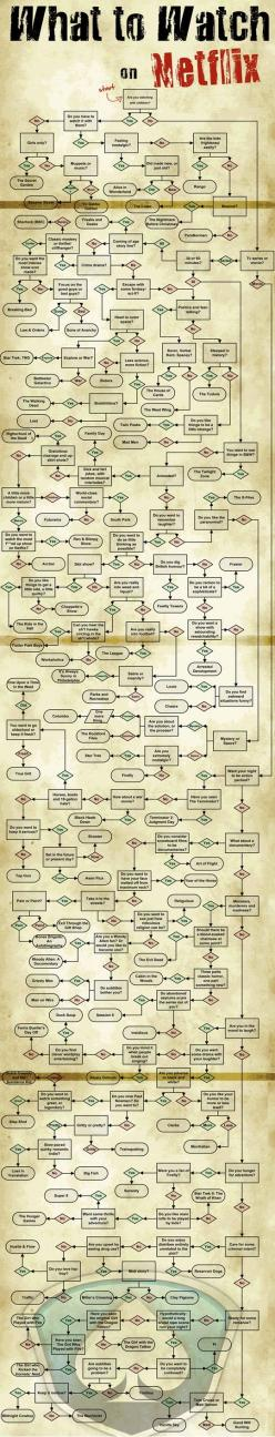 What to watch on Netflix…best. Chart. Ever. Made.: Idea, Netflix Movies, Funny, Random, Things, Life Hacks, Watches, Cool Netflix Guide What Watch, Netflix Flowchart