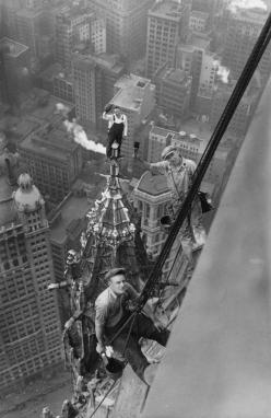 Woolworth Bldg, New York, 1926  solaennuevayork.com: Picture, Photos, 1926, Woolworth Building, New York, Newyork, Black, Photography