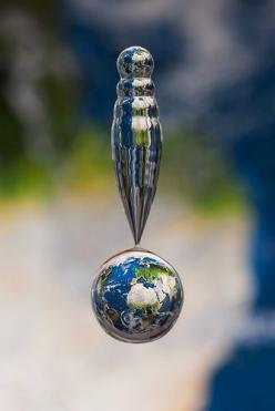 world in a water drop...this creates some deep thinking: Photos, Water Drops, Markus Reugels, Maps, Art, Pictures, Water Droplets, Photography