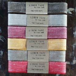 100% Linen Tape: Colour, Linen Tapes, Fog Linen, Linens, Products, Shop Fog