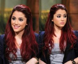 """Arkansas Grande deep red hair color"" Said another pinner....hahaha Its Ariana<<Lol, @Gianna Borkhuis Porcelli do you think you would ever in a million years dye your hair this color?: Hair Ideas, Hair Colors, Hairstyles, Hair Styles, Red Ha"