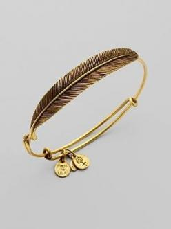 ALEX AND ANI - feather wrap bangle. YES. I need to add this to my Alex and Ani collection!: Alex And Ani Bracelet, Ani Feather, Alex And Ani Bangle, Feather Wrap, Alexandani, Alex O'Loughlin
