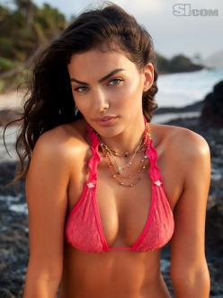 Alyssa Miller - Sports Illustrated Swimsuit 2011 Location: Turtle Island, Fiji, Turtle Island Swimsuit: Swimsuit by Debbie Wilson for Maui Girl Photographed by: Walter Iooss Jr.: Sports Illustrated Swimsuit, Sexiest Models, Swimsuits, 2011 Alyssa, Bikini,