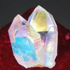 angel aura quartz crystal. used to: Activate the throat chakra Find your personal purpose Channel higher knowledge Reach deeper meditative states Open awareness to the angel domain.: Crystal, Gems Minerals, Crystals Minerals Gemstones, Gemstones Crystals,