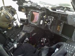 Apache Cockpit View It's not a Chinook, but we have parts on this craft!: Helicopter, Weapons Officer, Military Aircrafts, Apache Weapons, Apache Cockpit, Ah 64 Cockpit, Ah 64 Apache, Officer Station