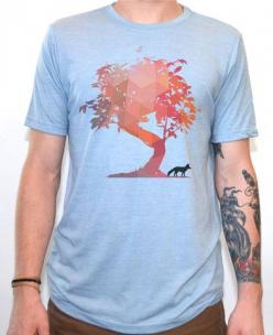 Artisan Tees - The Fox and The Tree T-shirt: Trees, T Shirts, Foxes, Products