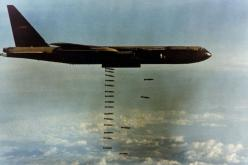 B-52 doing what it does: B52, Military Aircraft, Air Force, Vietnam War, B 52, North Vietnam, Photo