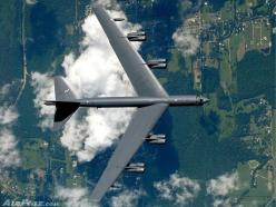 B-52 from Barksdale Air Force Base in Louisiana, as seen from another airplane - photo by Martt Clupper / AirPigz: B52, Military Aircraft, Jet Fighters Airplanes, Jets Planes Aircraft, Quan Su, Fighter Jets, B 52 Stratofortress