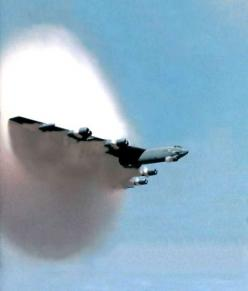 B-52 going supersonic...that's the shit there!!!  I didn't know that they could do that.: Aviation, B52, Airplanes Helicopters Aircraft, B 52 Breaking, Aircrafts Warships, Planes, B 52 Stratofortress