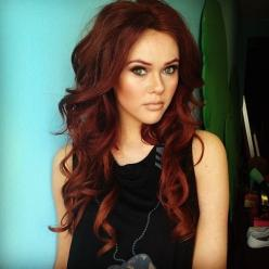Beautiful red hair color: Hair Colors, Hairstyles, Red Hair, Hair Styles, Hair Makeup, Haircolors, Redhead, Redhair, Hair Colour