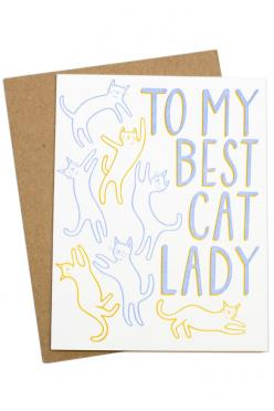 Because I'm all about those cats.: Cats, Lady Card, Products, Cards, Cat Lady