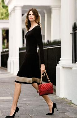 Bette Frank: Work, Fashion, Street Style, Outfit, Bette Franke, Wear, Black Dress