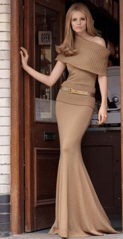 beyond elegant!: Fashion, Style, Clothes, Michael Kors, Dresses, Outfit, Brown