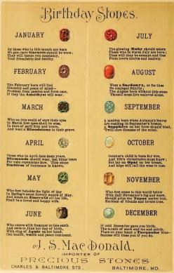 birth stones: Crystals, Birthstone Chart, Birthdays, Birthstones, Pagan, Things, Gem, Birth Stones, Birthday Stones