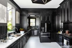 Black Is The New Black: 2014 Kitchen Of The Year #treschic: Steven Miller, House Beautiful, Francisco Decorator, Black Kitchens, Decorator Showcase, Kitchen Design, San Francisco