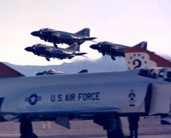Blue Angels take off over Thunderbirds (all flying F4 Phantoms): Military Aircraft, Airplane Blue Angels, Birds Blue Angels, F4 Phantom, Thunder Birds Blue, Blue Angel S